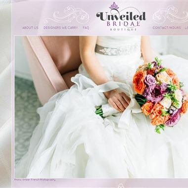 Unveiled Bridal Boutique wedding vendor preview