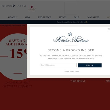 Brooks Brothers wedding vendor preview