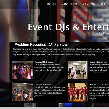 Event DJs & Entertainers | Victor Chavez&Julia ​Krasnov  wedding vendor preview