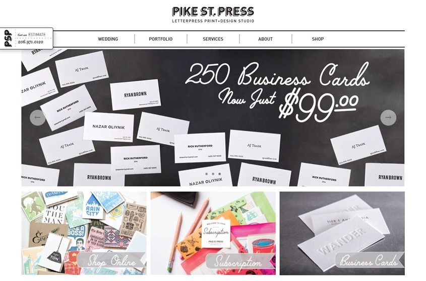 Pike Street Press wedding vendor photo