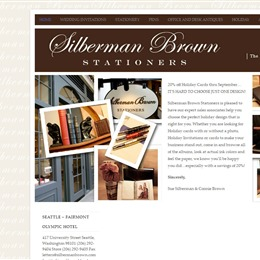 Silberman Brown Stationers photo