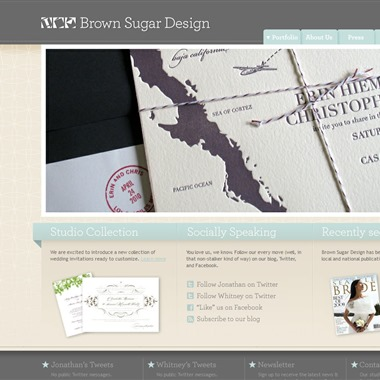 Brown Sugar Design wedding vendor preview