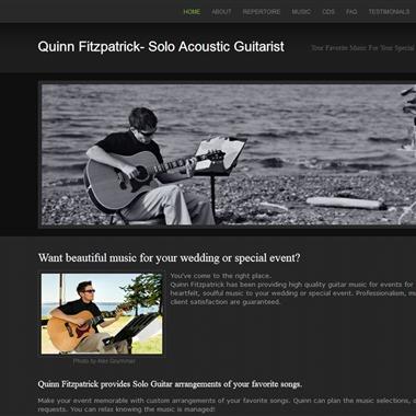 Quinn Fitzpatrick | Solo Acoustic Guitarist wedding vendor preview
