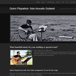 Quinn Fitzpatrick | Solo Acoustic Guitarist photo