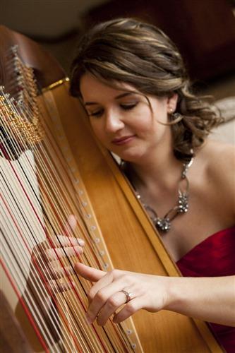 Seattle Harpist: Alishia Joubert wedding vendor photo