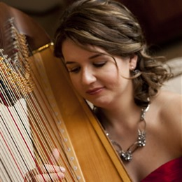 Seattle Harpist: Alishia Joubert photo
