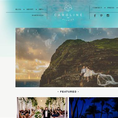 Caroline Studios wedding vendor preview