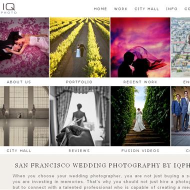 IQphoto Studio wedding vendor preview