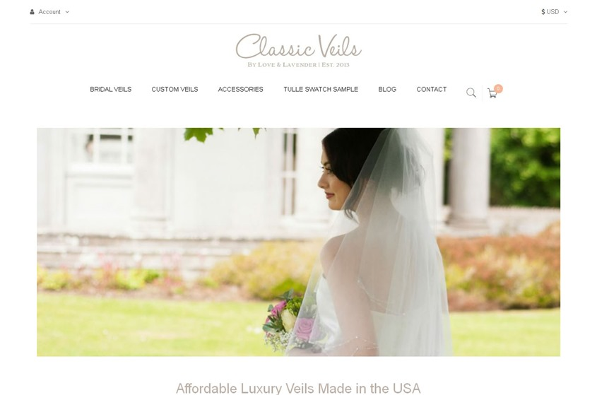 Classic Veils wedding vendor photo