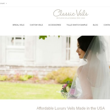 Classic Veils wedding vendor preview