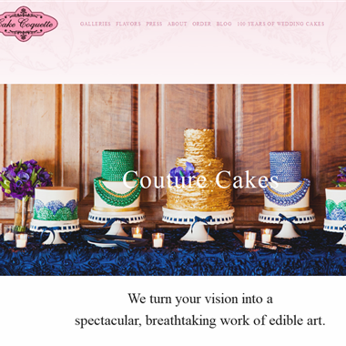 Cake Coquette wedding vendor preview