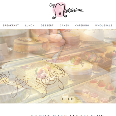 Cafe Madeleine wedding vendor preview