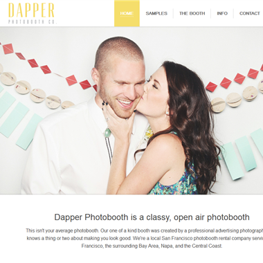 Dapper Photobooth wedding vendor preview
