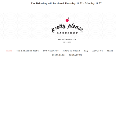 Pretty Please Bakeshop wedding vendor preview