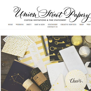 Union Street Papery wedding vendor preview
