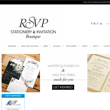 RSVP Stationery & Invitation Boutique wedding vendor preview