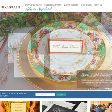 Hyegraph  wedding vendor preview