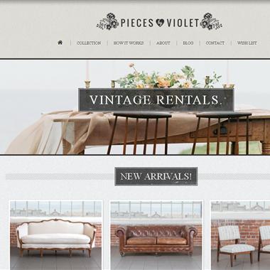 Pieces by Violet wedding vendor preview