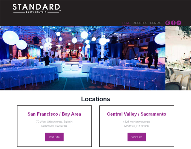 Standard party rentals san francisco wedding furniture and rentals standard party rentals wedding vendor photo junglespirit Image collections