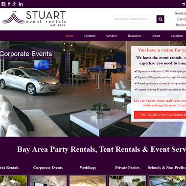 Stuart Event Rentals wedding vendor preview