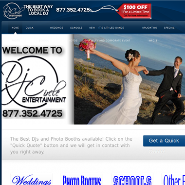 Dj Circle Entertainment wedding vendor preview