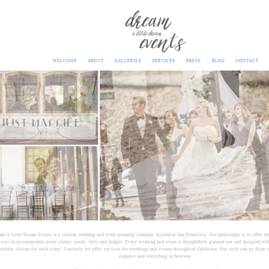 Dream a Little Dream Events wedding vendor preview