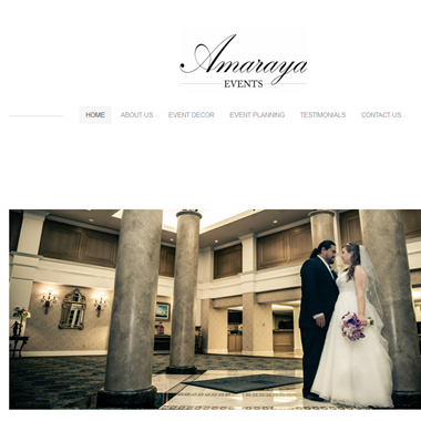 Amaraya Events wedding vendor preview