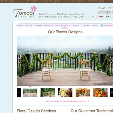 Tomobi Floral Art wedding vendor preview