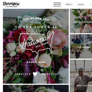 Farmgirl Flowers wedding vendor preview