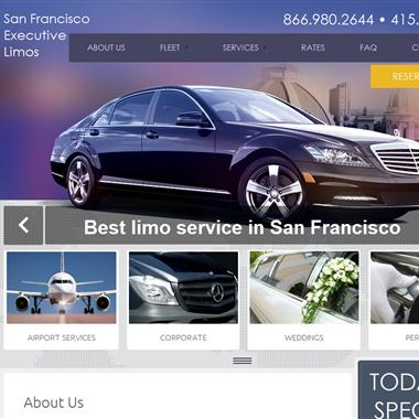 San Francisco Executive Limos wedding vendor preview