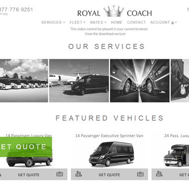 Royal Coach wedding vendor preview