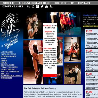 Pick School of Ballroom Dancing wedding vendor preview