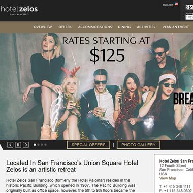 Hotel Zelos  wedding vendor preview