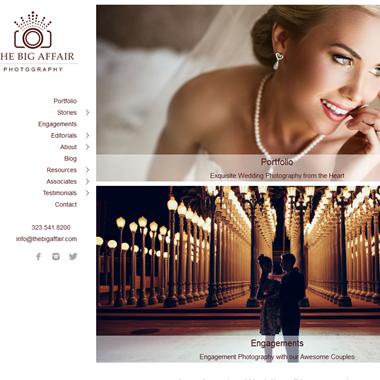 The Big Affair Photography wedding vendor preview