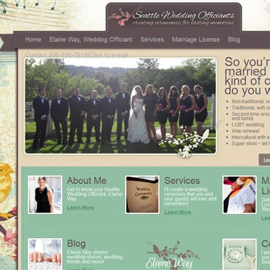 Seattle Wedding Officiants wedding vendor preview