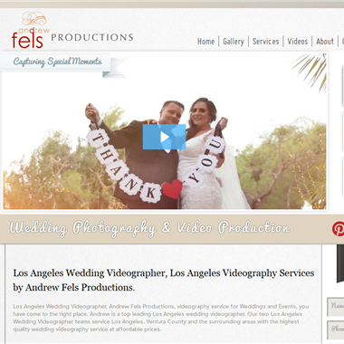 Andrew Fels Productions wedding vendor preview