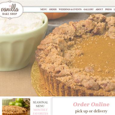 Vanilla Bake Shop wedding vendor preview