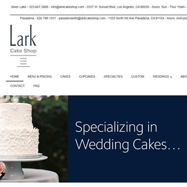 Lark Cake Shop wedding vendor preview
