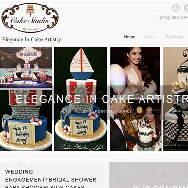 Cake Studio L. A. wedding vendor preview