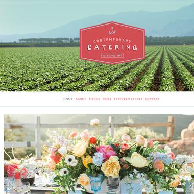 Contemporary Catering wedding vendor preview