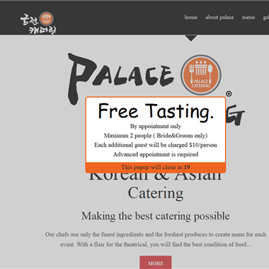 Palace Catering wedding vendor preview