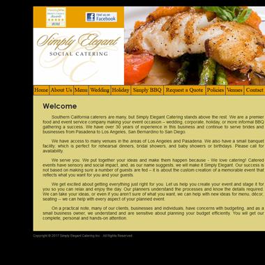 Simply Elegant Catering Inc wedding vendor preview