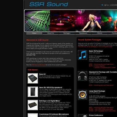 SSR Sound System Rentals, Inc. wedding vendor preview