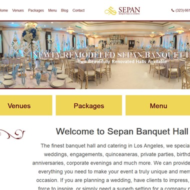 Sepan Banquet wedding vendor preview