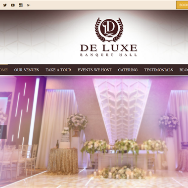 De Luxe Banquet Hall wedding vendor preview