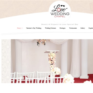 Love Wedding Chapel wedding vendor preview