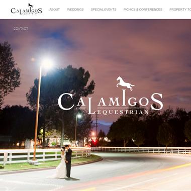 Calamigos Equestrian wedding vendor preview