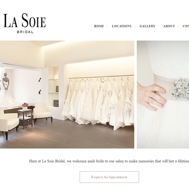 La Soie Bridal wedding vendor preview