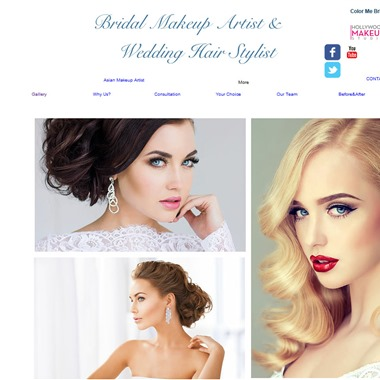 Bridal Make up Artist and Wedding Hairstylist wedding vendor preview