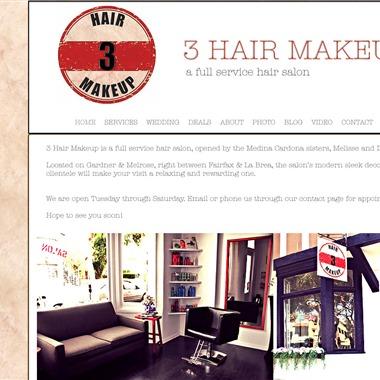 3 Hair Makeup wedding vendor preview